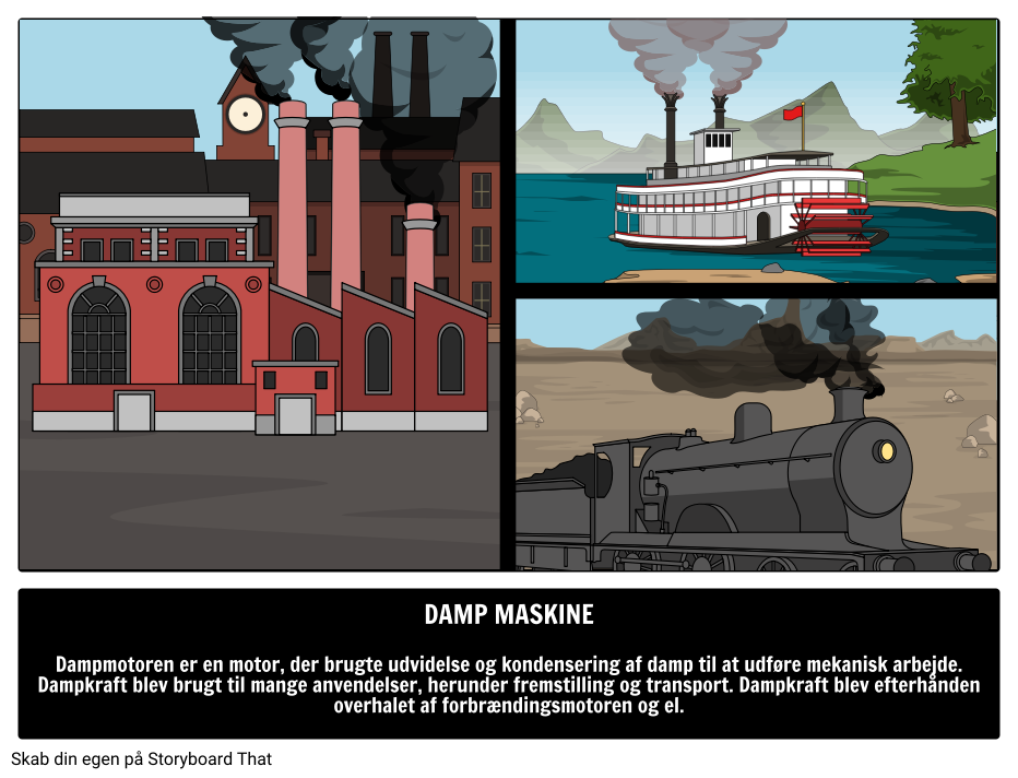 Damp Maskine
