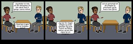 Dårlig Deltagelse Samtale