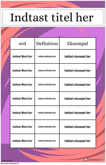 Definition Poster
