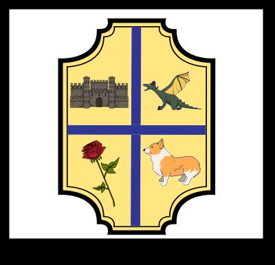 En Middelalderlig Fest - Crest Våbenskjold