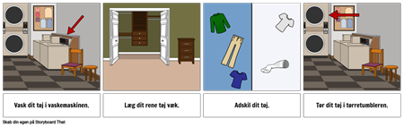 Første ... Sidste Eksempel - Vaske tøj