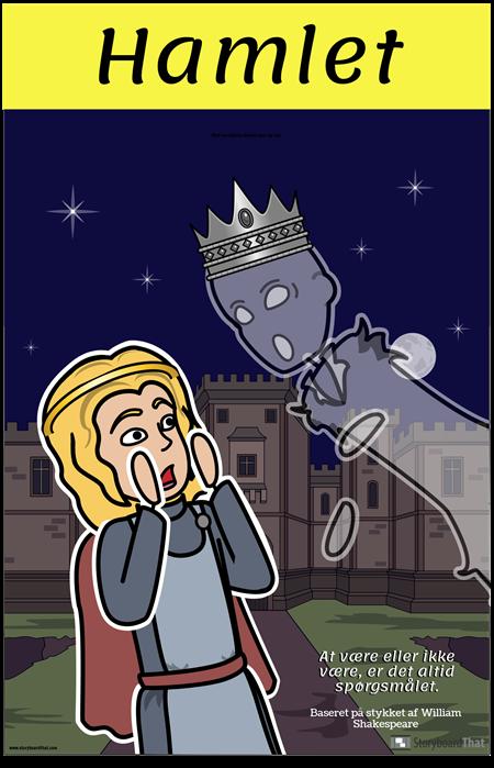 Hamlet ELA-plakat