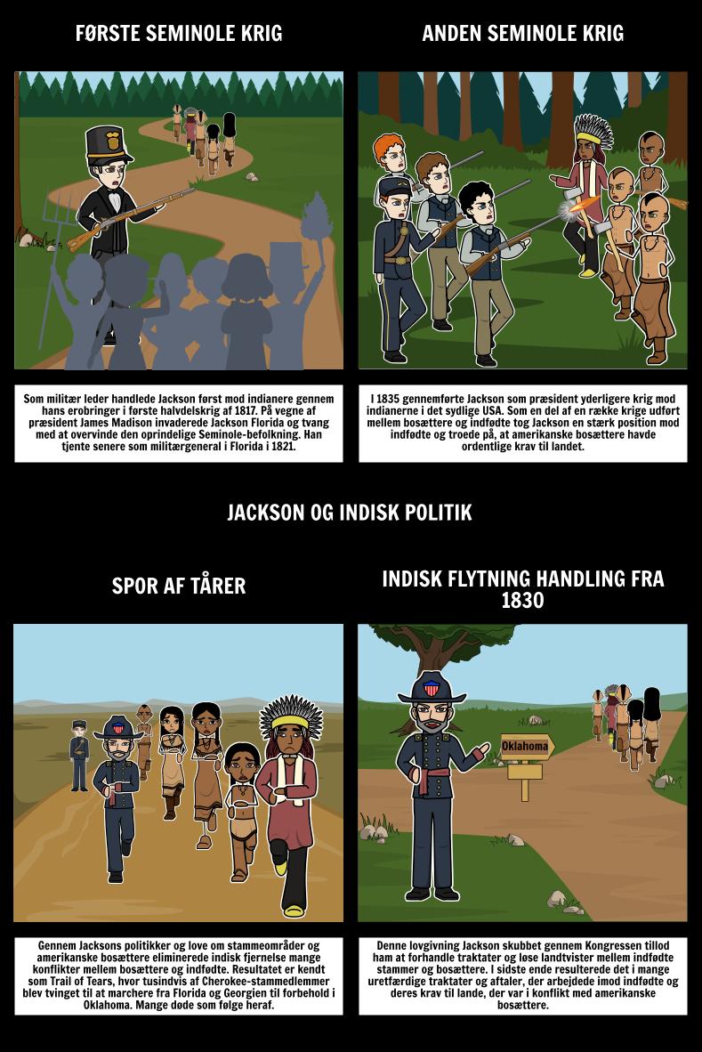Jacksonian Demokrati - Jackson og Indiske Politik
