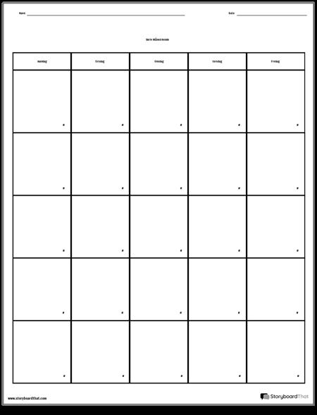 Kalender - Ugedag