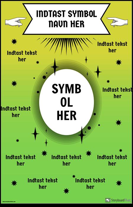 Math Symbol Plakat
