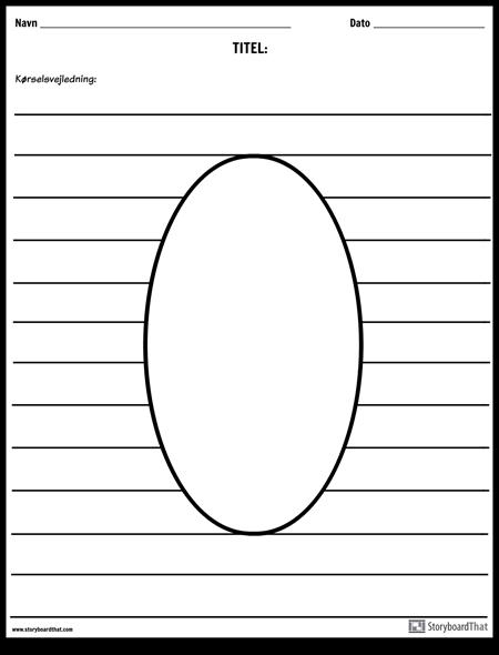 Oval Illustration