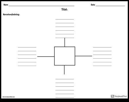 Spider kort med linjer - 4