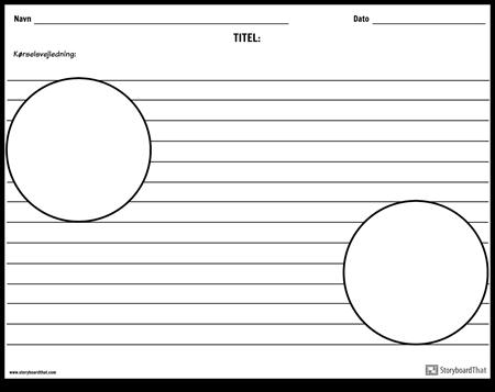 To Cirkel Illustrationer