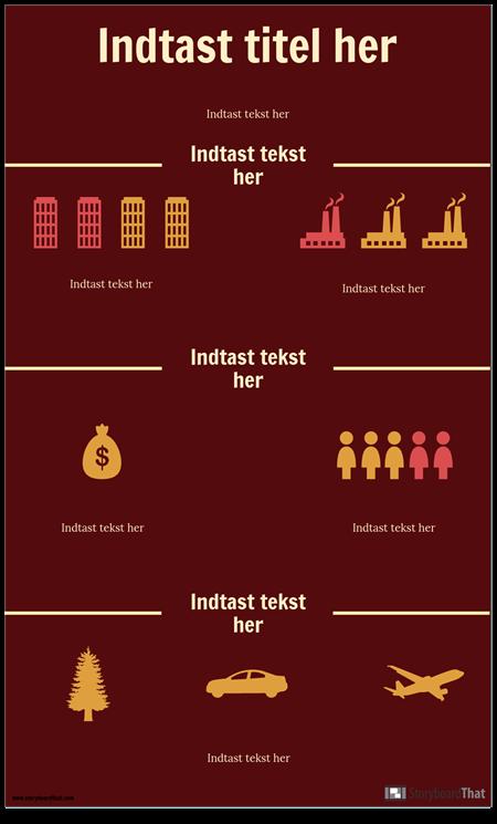 Videnskab Infographic Skabelon