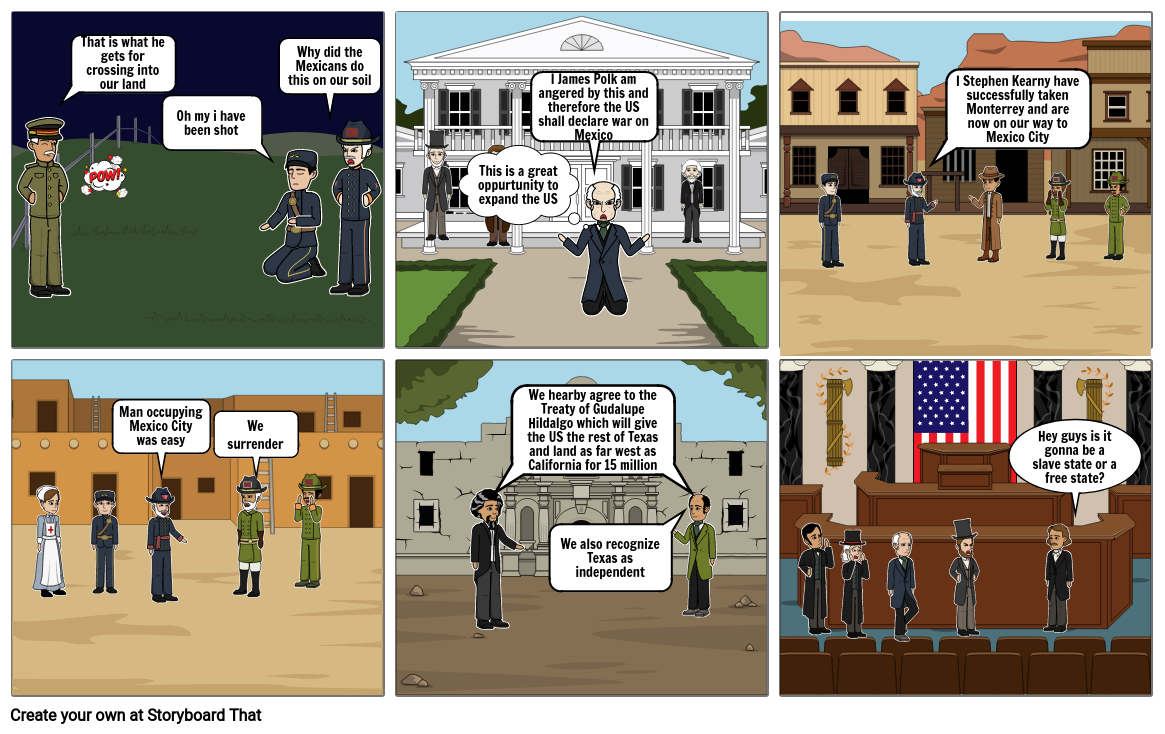 Mexican-American War Project