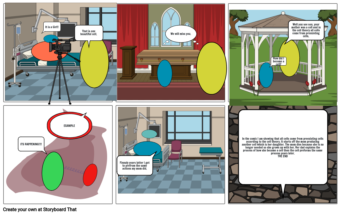 CELL THEORY COMIC