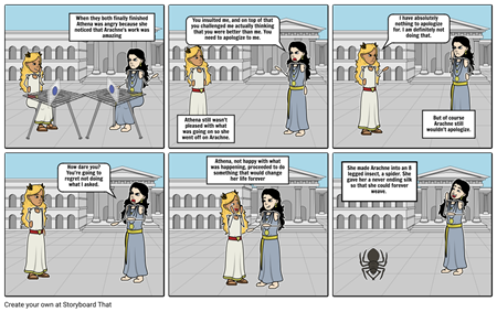 Arachne and Athena pt2
