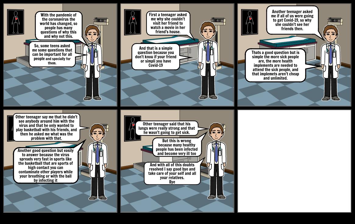 Creating a comic