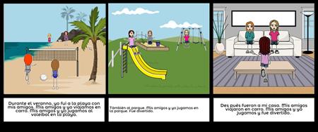 Spanish Storyboard 2
