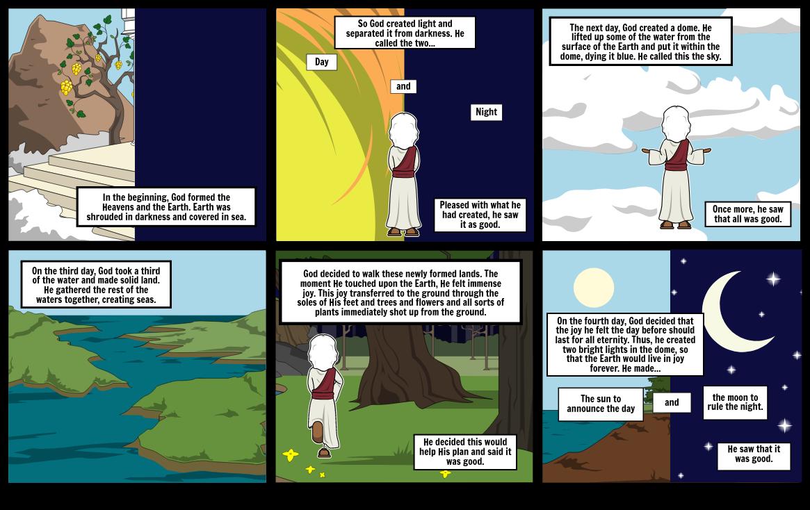 Religion Comic