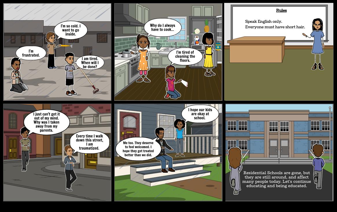 Indigenous Learning storyboard 2