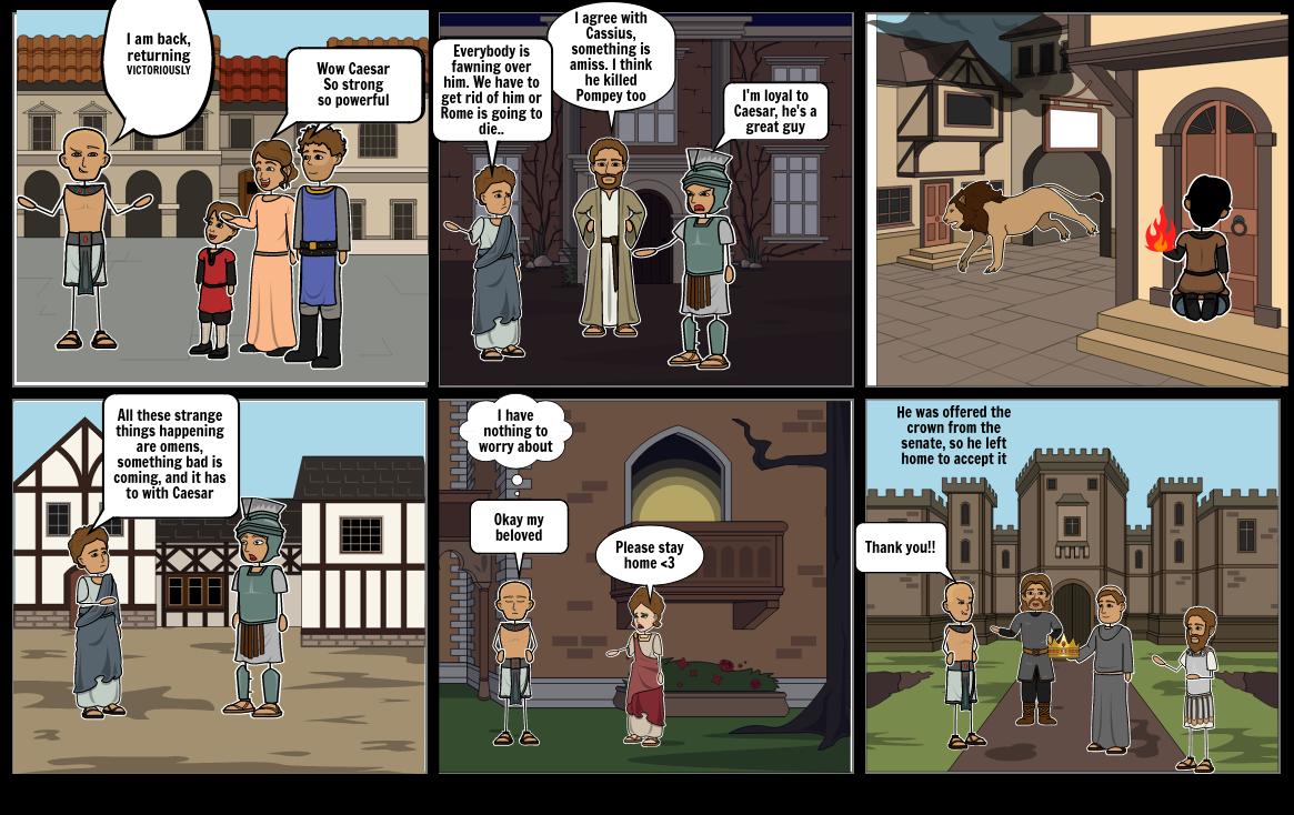 Act I and II (Julius Caesar)