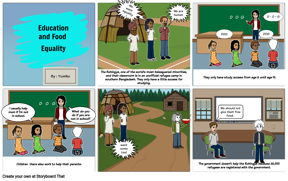 ICT Education and Food Equality