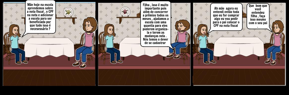 Historia em Quadrinhos - Dara Gabrielli Cordeiro