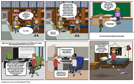 Ethics Storyboard