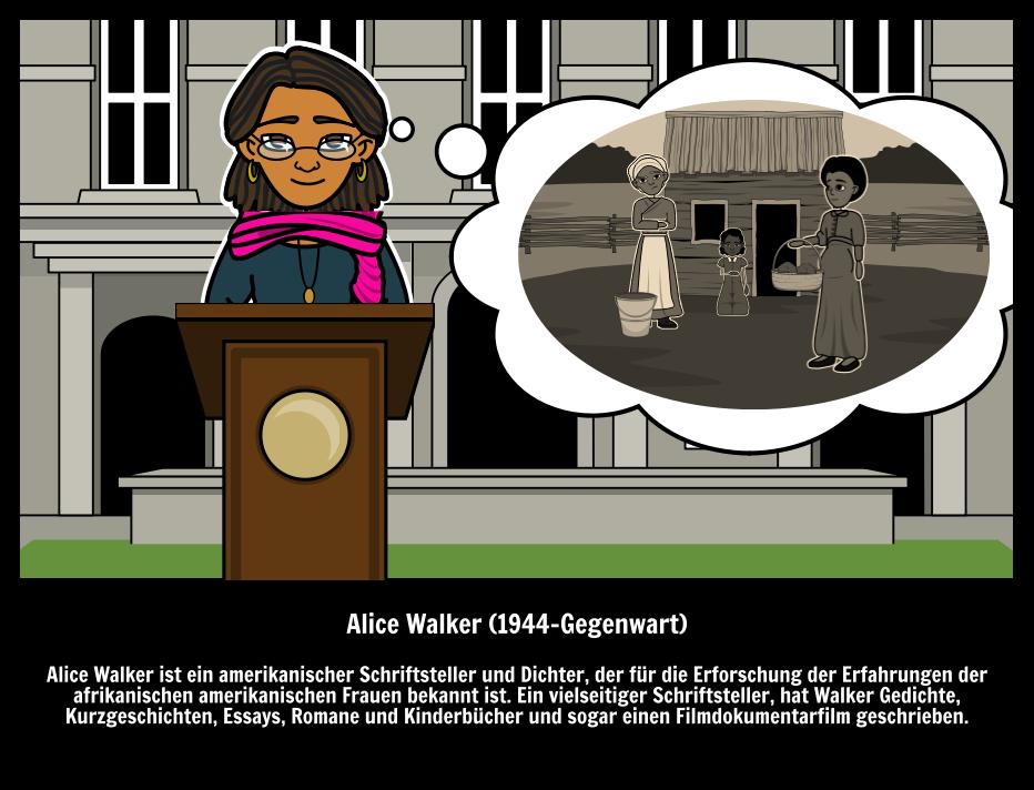 Große Leute - Berühmte Autoren - Alice Walker Die Farbe Lila