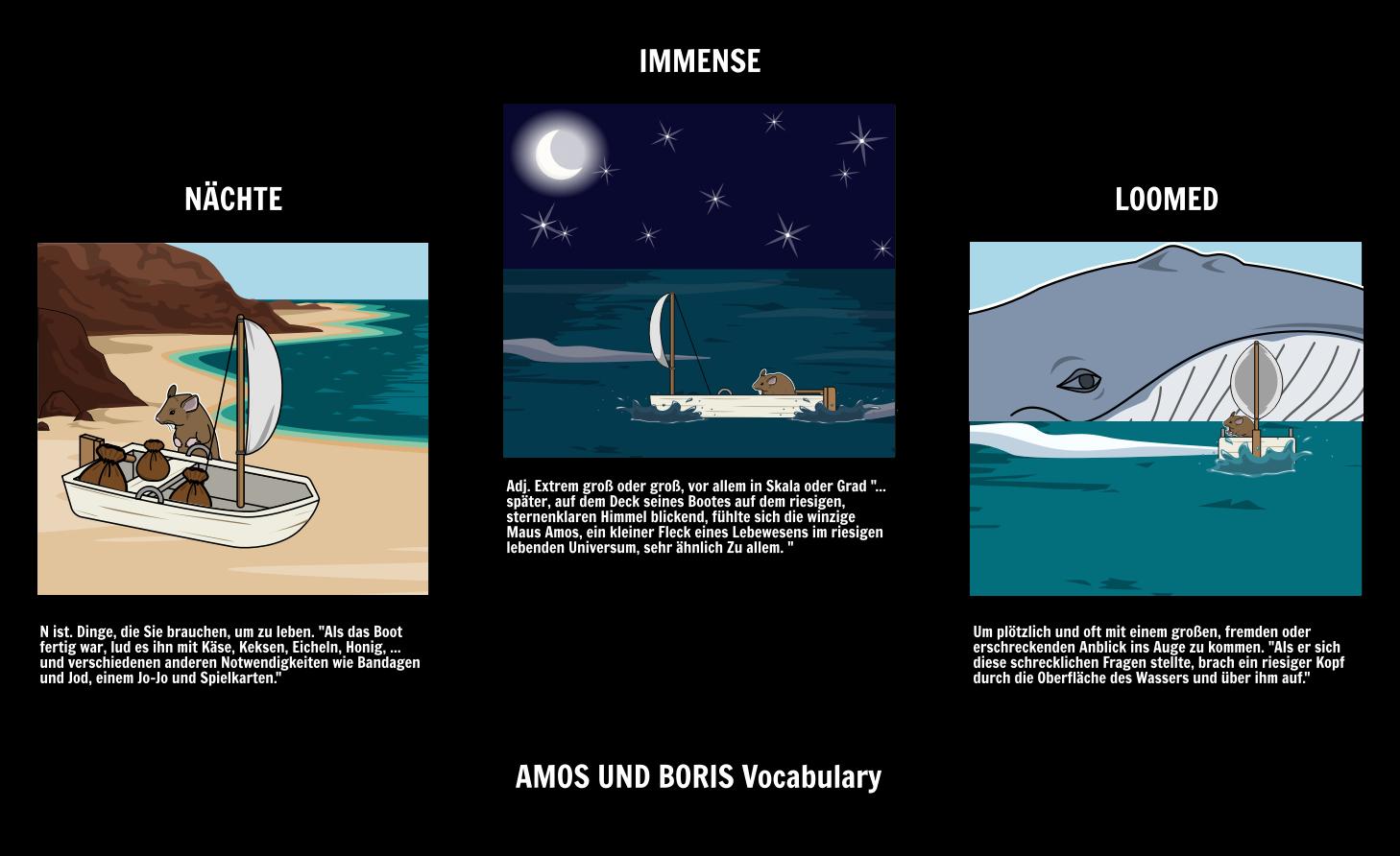 Amos und Boris Aktivitäten Freundschaft | William Steig