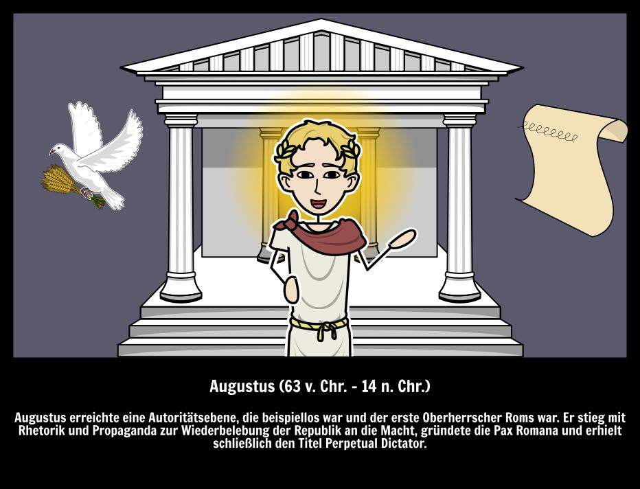 Augustus Römischer Kaiser | Pax Romana | Große Leute in der Geschichte