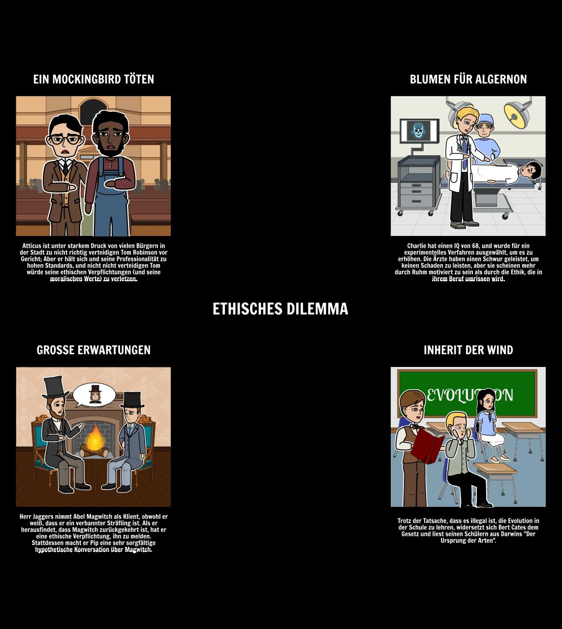 Beispiele Fur Moralische Dilemmata In Der Literatur