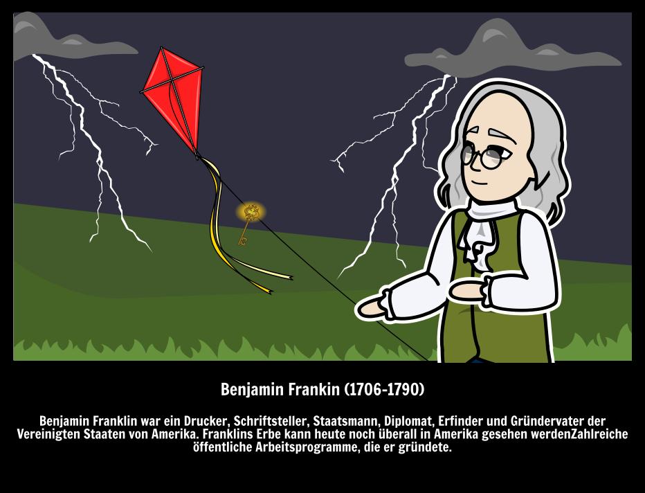 Große Leute - Berühmte Erfinder - Benjamin Franklin