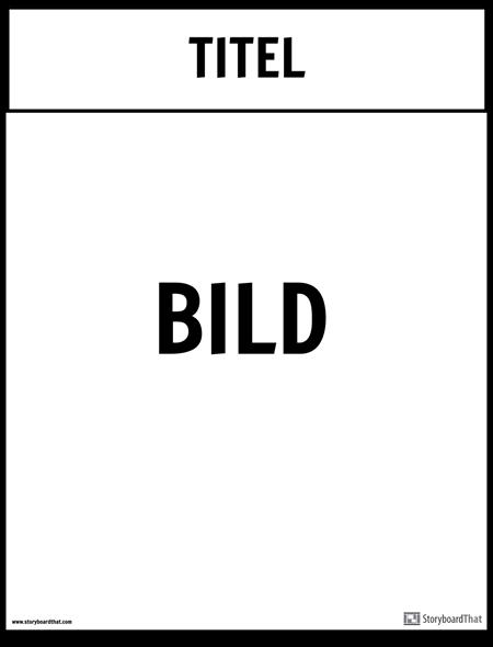 Büro Poster Vorlage