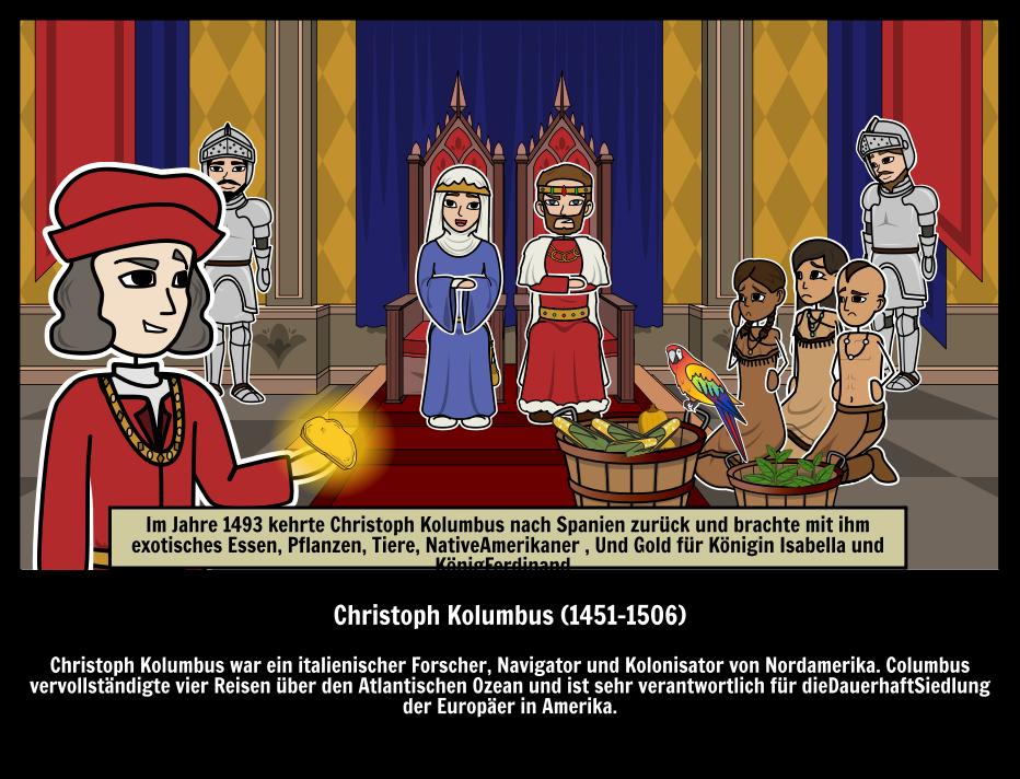 Ganz und zu Extrem Christoph Kolumbus Storyboard von de-examples #GF_66