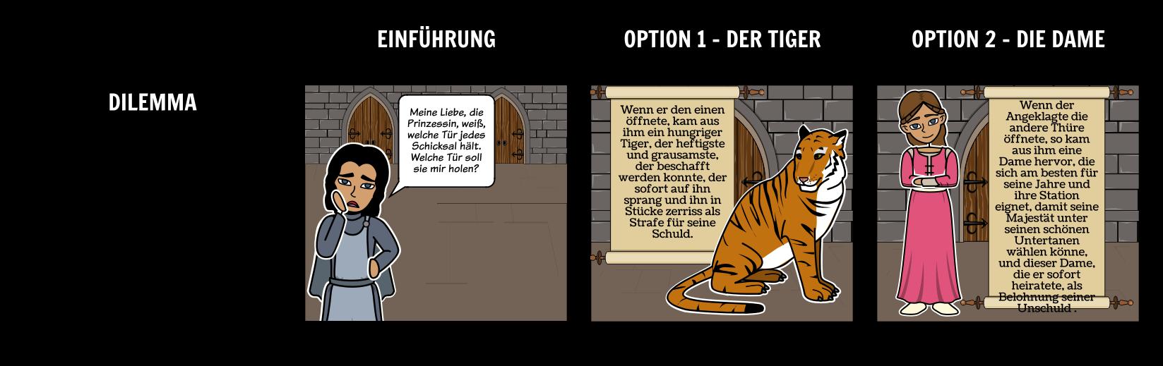 Dame Oder das Tiger-Dilemma