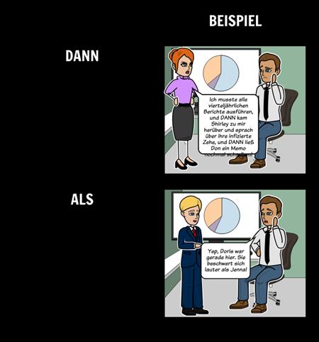 Dann Vs. Als - Homophone