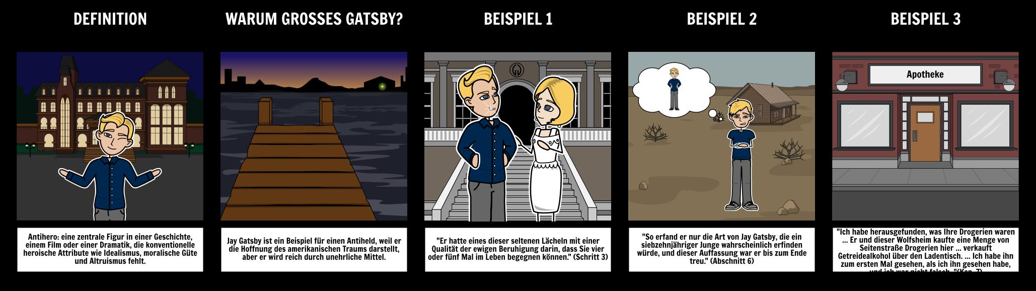 Der Große Gatsby - Antiheld