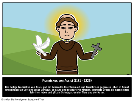Der Heilige Franziskus von Assisi