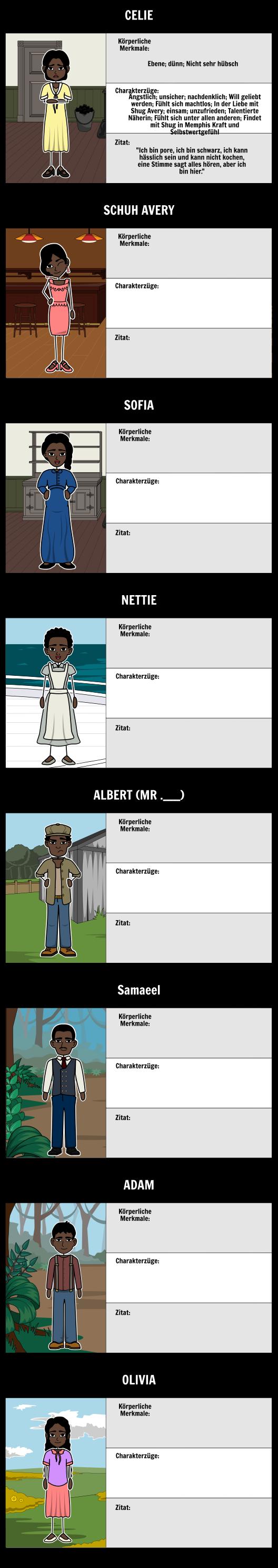 Die Farbe Lila Zusammenfassung und Analyse   Alice Walker