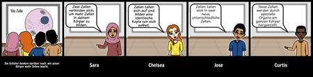 Diskussion Storyboard - HS - Zellteilung