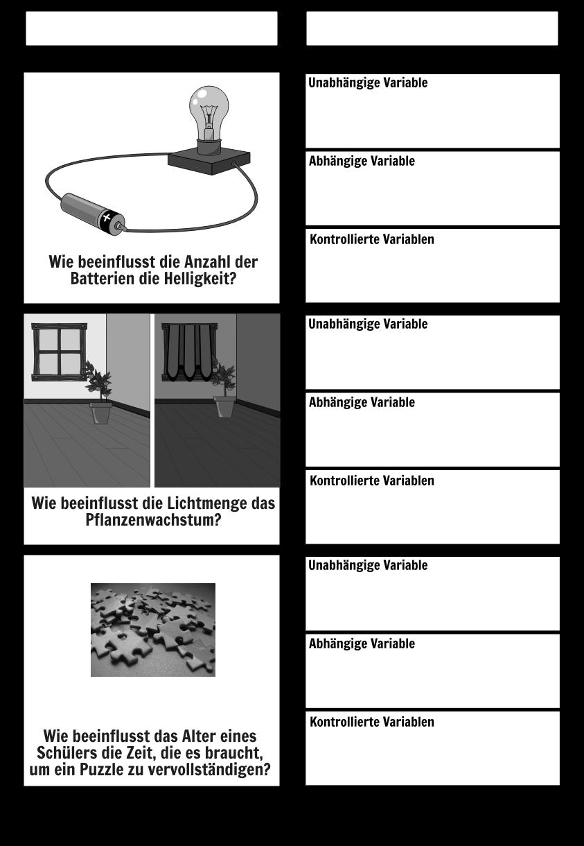 Druckbare Variablen Storyboard Von De Examples