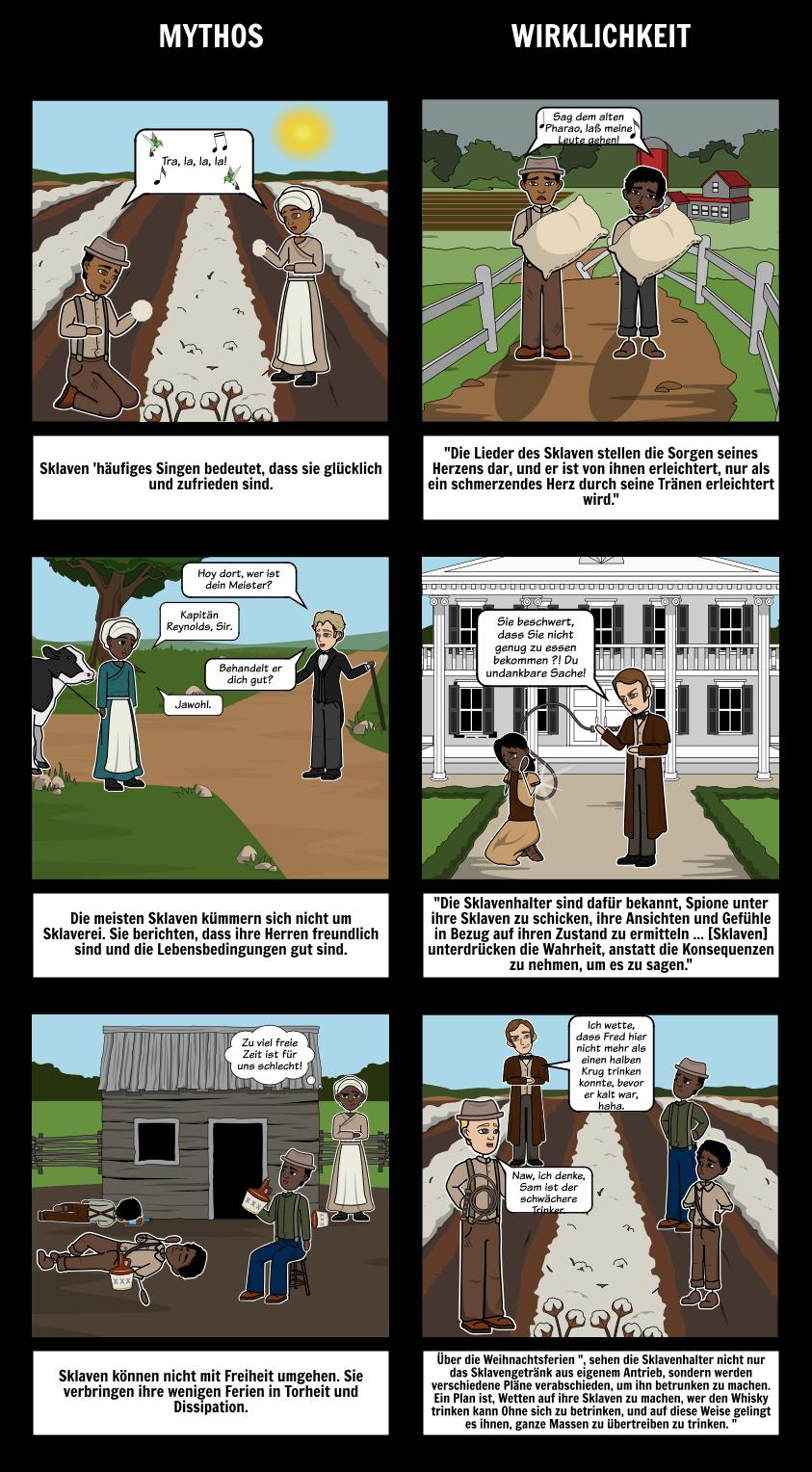 Eine Erzählung vom Leben von Frederick Douglass Mythbusters