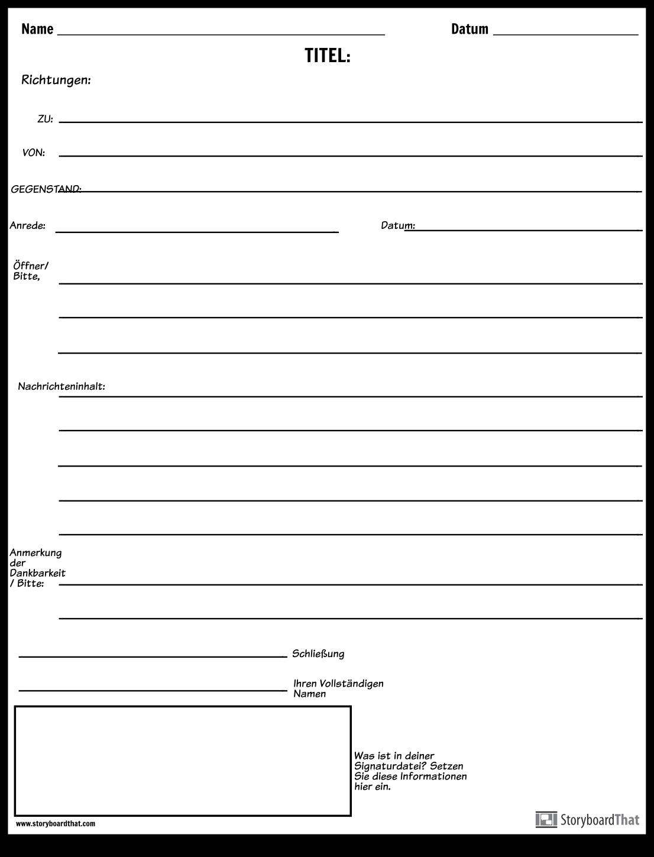 Erstellen Sie Eine Formale E Mail Vorlage   E Mail Etikette ...