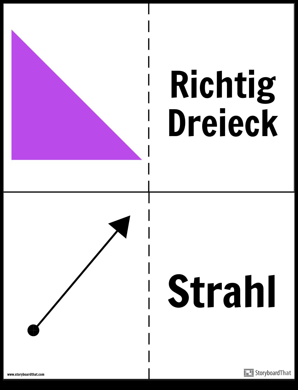Geometrie-Lernkarten