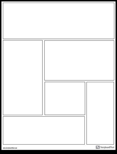 Grafik Novel Layout
