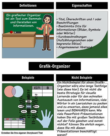 Graphic Organizer für Graphic Organizer