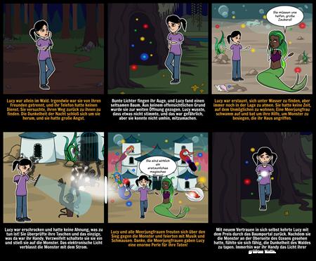Halloween Aktivitäten - Story Starter