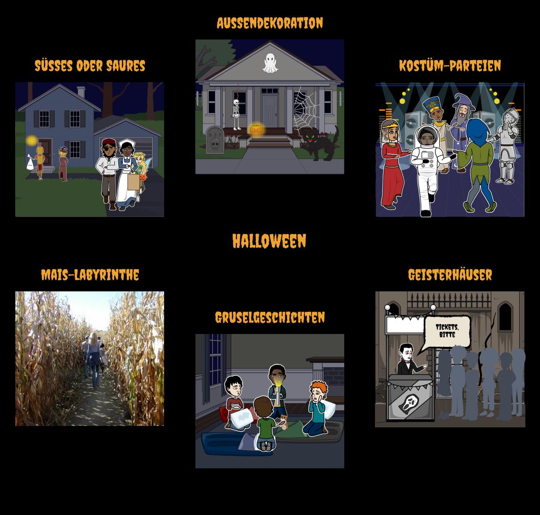 Halloween Aktivitäten für das Klassenzimmer   Halloween-Monster