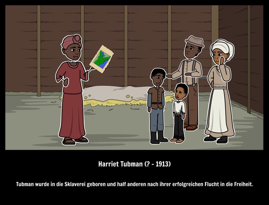 Harriet Tubman Biographie   Underground Railroad Abolitionisten