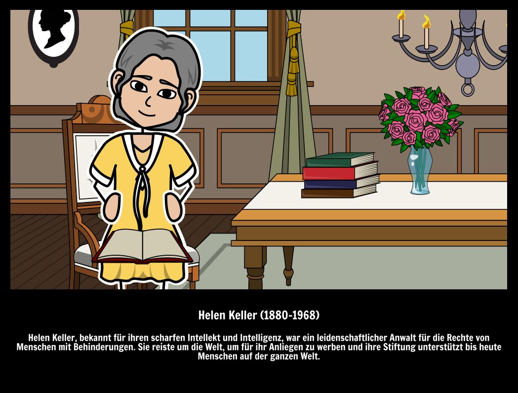 Große Leute | Helen Keller Zitate & Biographische Informationen