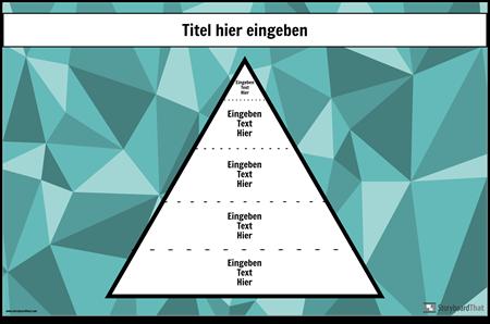 Hierarchie-Plakat