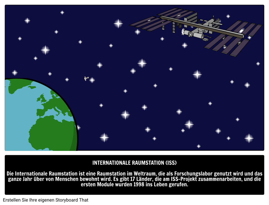 Space Words Illustrated Guide | Internationale Raumstation