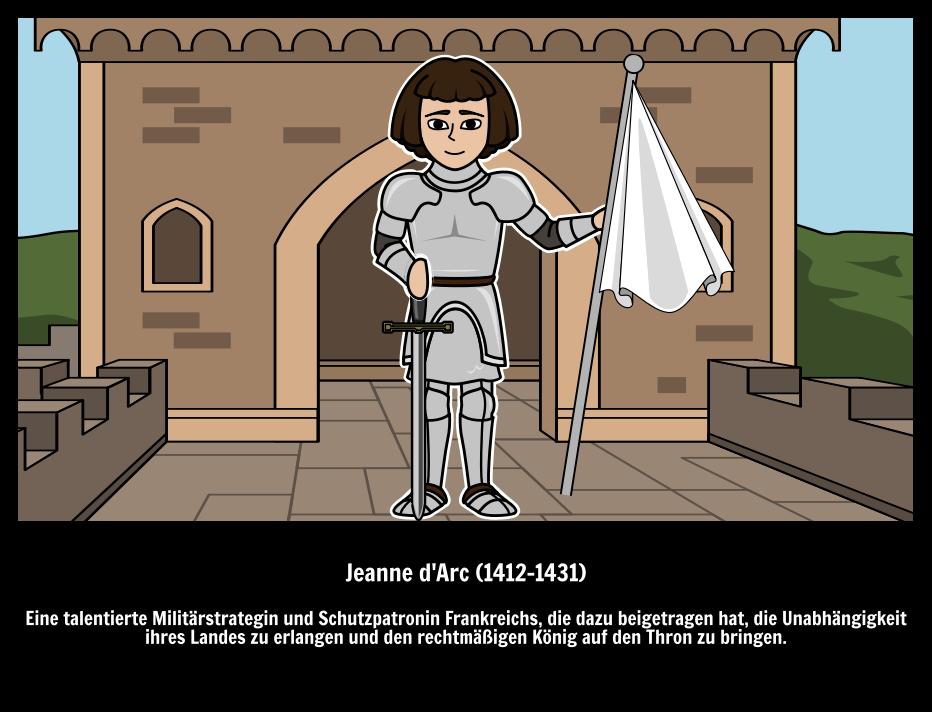 Jeanne D\'Arc Biographie | Einflussreiche Frauen | Wer ist Jeanne D\'Arc?